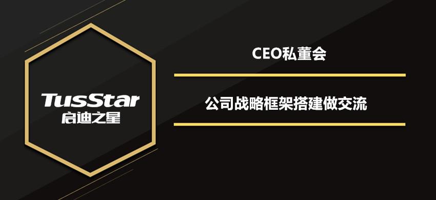 CEO私董会——公司战略框架搭建交流会