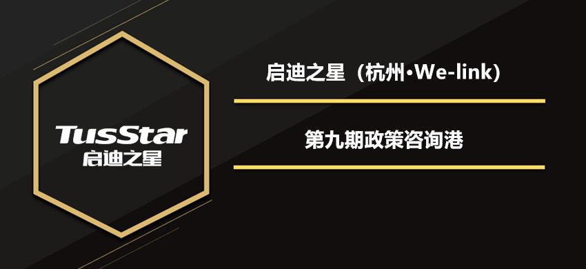 启迪之星(杭州·We-link)第九期创业咨询港