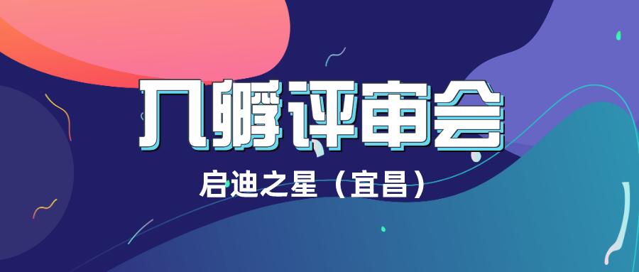 启迪之星(宜昌)入孵评审会